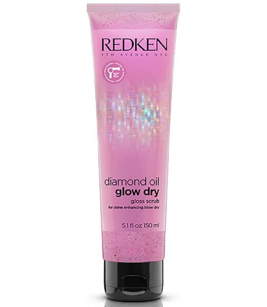 glow dry scrub